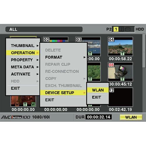 Panasonic AJ-SFU3100G Wireless LAN Software Key (Upgrade)