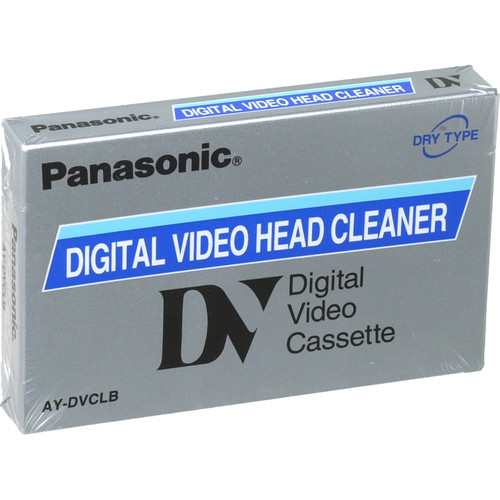 Panasonic AY-DVCLB Full Size DV Cleaning Cassette