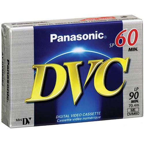 Panasonic AY-DVM60EJ Mini DV Cassette (60 Minutes)