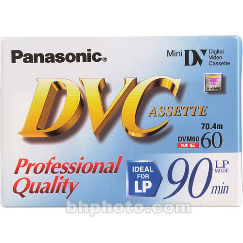 Panasonic AY-DVM60XJ Mini Professional DVC