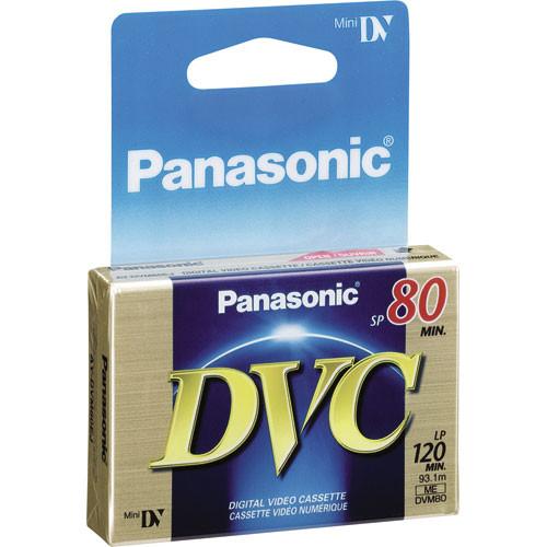 Panasonic AY-DVM80EJ Mini DV Cassette (80 Minutes)