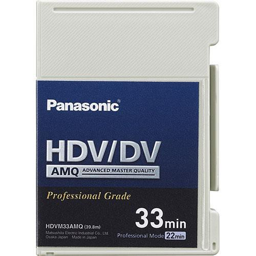 Panasonic AY-HDVM33AMQ  Mini HDV/DV/DVCAM Compatible Advanced Master Cassette