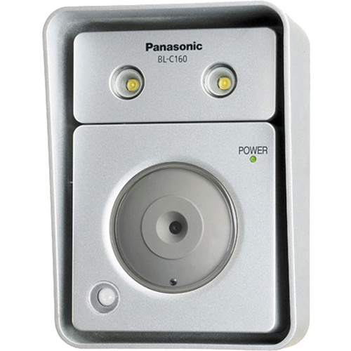 Panasonic BL-C160A Outdoor Network Camera with Built-In LED Lights