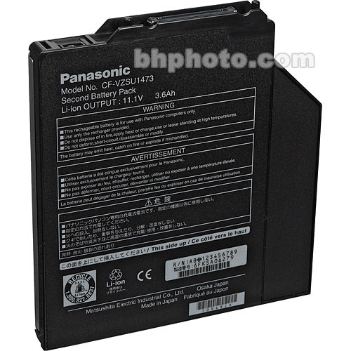 Panasonic CFVZSU1473U Lithium Ion Battery Pack for Multimedia Pocket