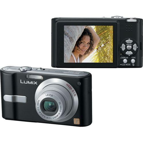 Panasonic Lumix DMC-FX12 Digital Camera (Black)