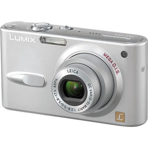 Panasonic Lumix DMC-FX3 Digital Camera (Silver)