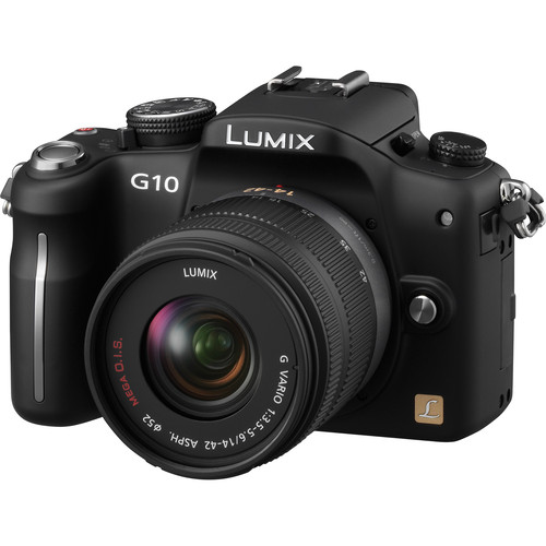 Panasonic DMC-G10 Interchangeable Lens System Digital Camera