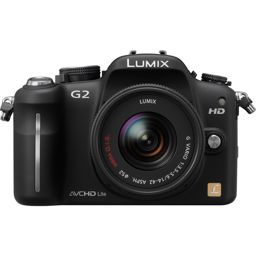 Panasonic Lumix DMC-G2 Interchangeable Lens System Digital Camera (Black)