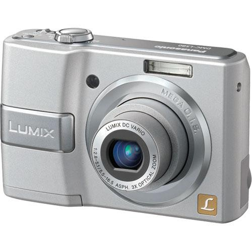 Panasonic Lumix DMC-LS80 Digital Camera (Silver)