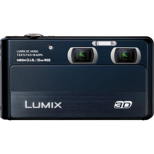 Panasonic LUMIX DMC-3D1 3D Digital Camera (Black)