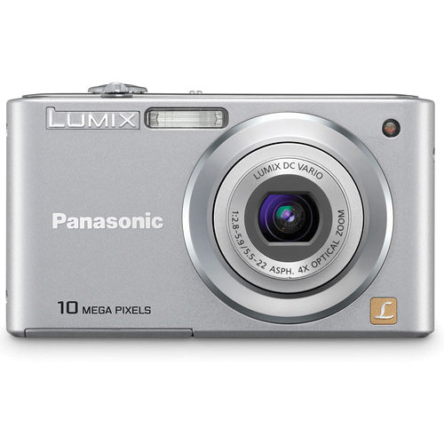Panasonic LUMIX DMC-F2 Digital Camera (Silver)