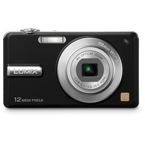 Panasonic LUMIX DMC-F3 Digital Camera (Black)