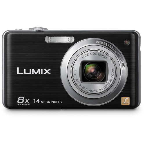 Panasonic LUMIX DMC-FH20 Digital Camera (Black)