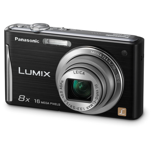 Panasonic Lumix DMC-FH25 Digital Camera (Black)