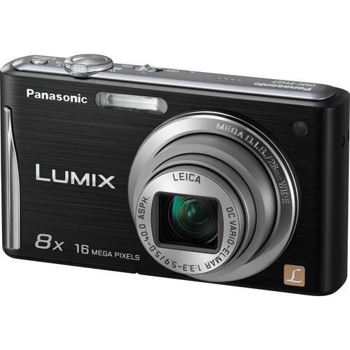 Panasonic Lumix DMC-FH27 Digital Camera (Black)