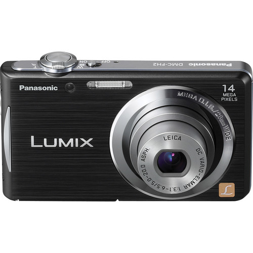 Panasonic Lumix DMC-FH2 Digital Camera (Black)