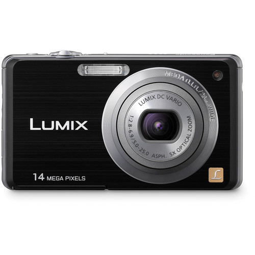 Panasonic LUMIX DMC-FH3 Digital Camera (Black)