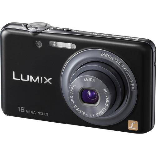 Panasonic LUMIX DMC-FH7 Digital Camera (Black)