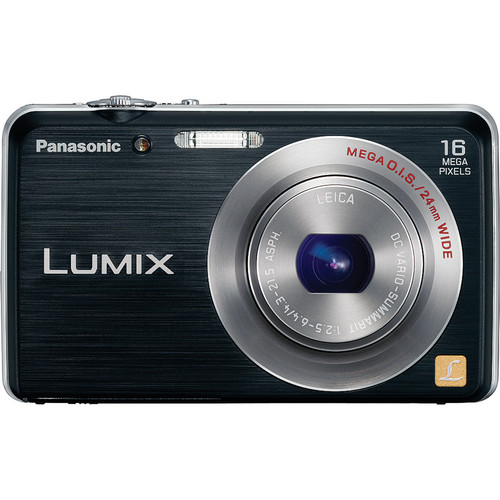 Panasonic LUMIX FH8 Digital Camera (Black)