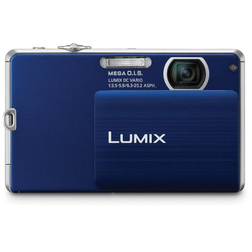 Panasonic LUMIX DMC-FP3 Digital Camera (Dark Blue)