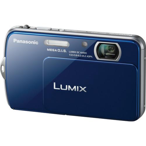 Panasonic Lumix DMC-FP7 Digital Camera (Blue)