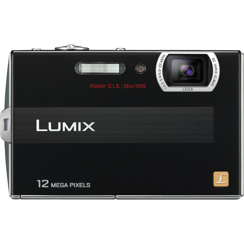 Panasonic Lumix DMC-FP8 Digital Camera (Black)
