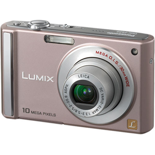 Panasonic Lumix DMC-FS20 Digital Camera (Pink)