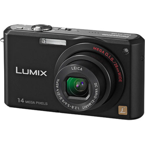 Panasonic Lumix DMC-FX150 Digital Camera (Black)