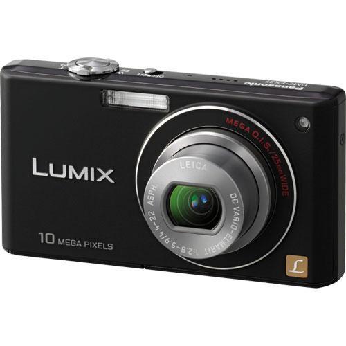 Panasonic Lumix DMC-FX37 Digital Camera (Black)