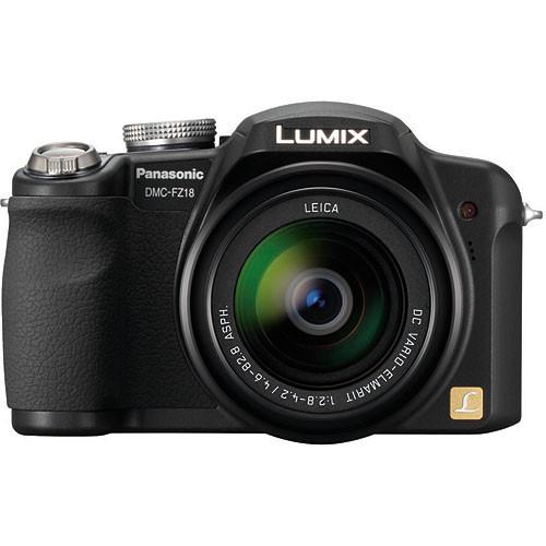 Panasonic Lumix DMC-FZ18 Digital Camera (Black)