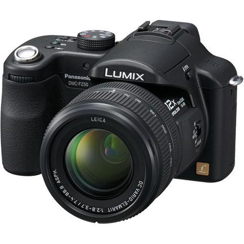 Panasonic Lumix DMC-FZ50 Digital Camera (Black)