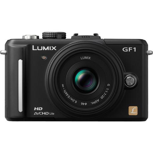 Panasonic Lumix DMC-GF1 Digital Camera with 20mm f/1.7 Lens