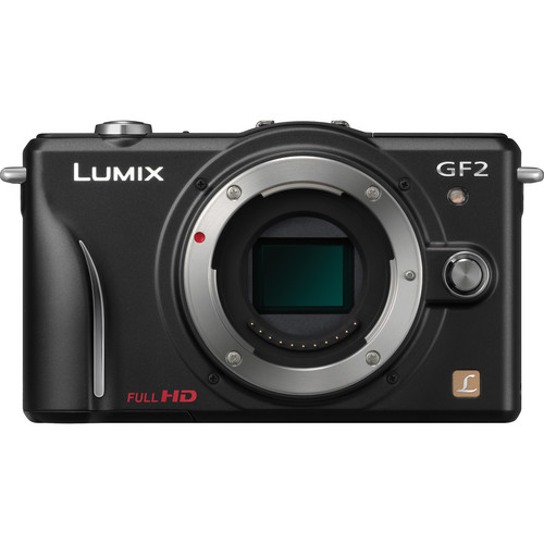 Panasonic Lumix DMC-GF2 Digital Micro Four Thirds Camera (Body)