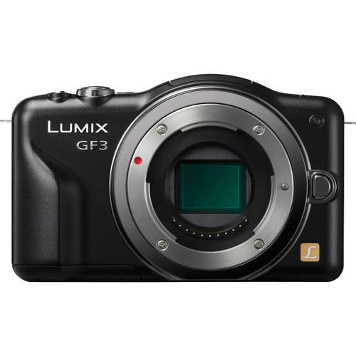 Panasonic Lumix DMC-GF3 Digital Camera (Body Only)