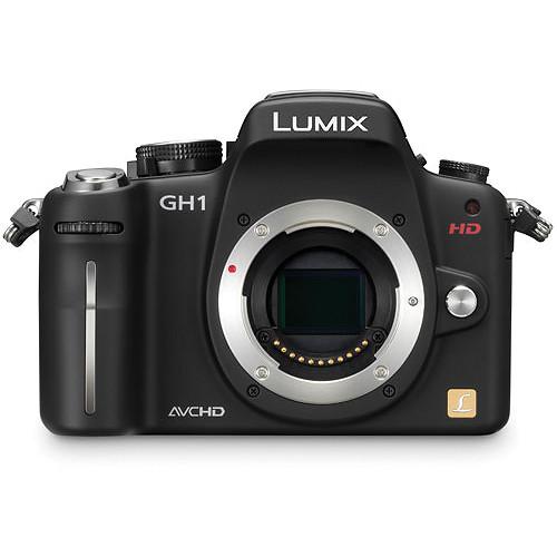 Panasonic Lumix DMC-GH1 Digital Camera (Black, Body Only)