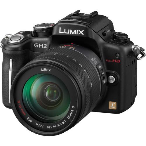 Panasonic Lumix DMC-GH2 Digital Camera W/14-140mm Lens (Black)