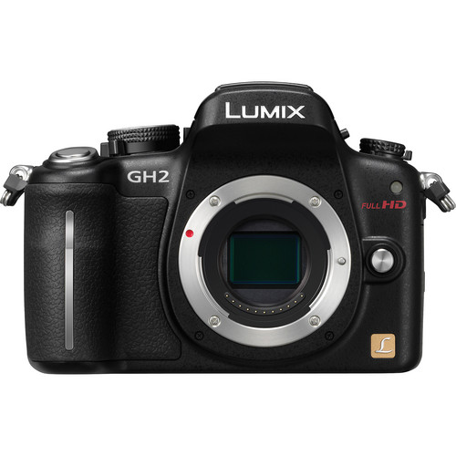 Panasonic Lumix DMC-GH2 Mirrorless Micro Four Thirds Digital Camera (Black)