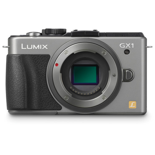 Panasonic LUMIX DMC-GX1 Mirrorless Micro Four Thirds Digital Camera Body (Silver)