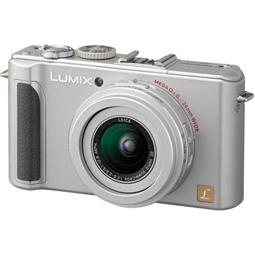 Panasonic Lumix DMC-LX3 Digital Camera (Silver)