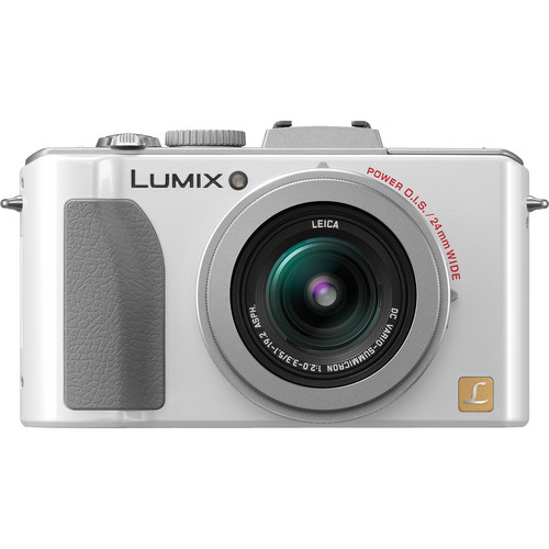 Panasonic Lumix DMC-LX5 Digital Camera (White)