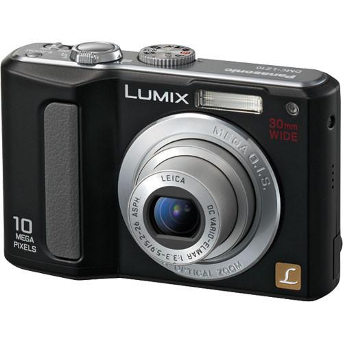 Panasonic Lumix DMC-LZ10 Digital Camera (Black)