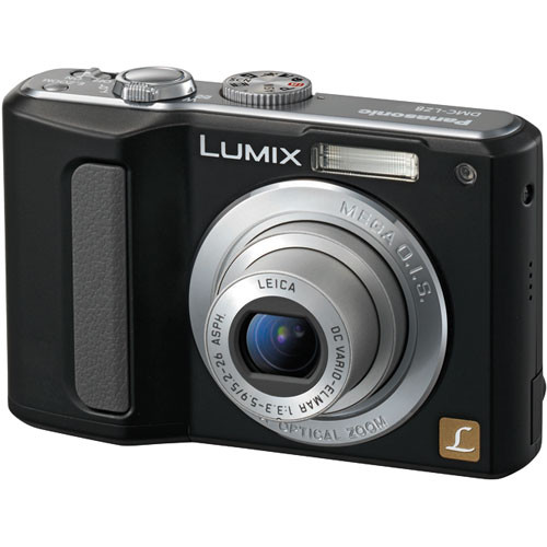 Panasonic Lumix DMC-LZ8 Digital Camera (Black)
