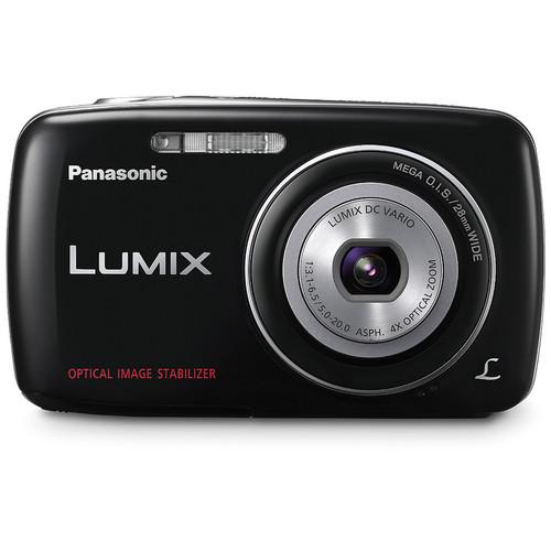 Panasonic Lumix DMC-S1 Digital Camera (Black)
