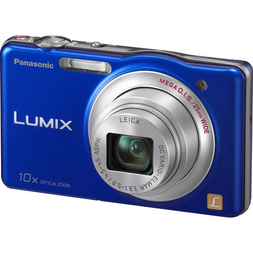 Panasonic LUMIX DMC-SZ1 Digital Camera (Blue)