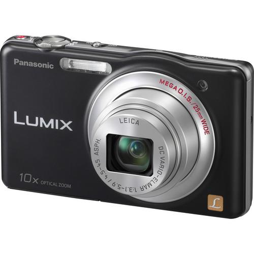 Panasonic LUMIX DMC-SZ1 Digital Camera (Black)