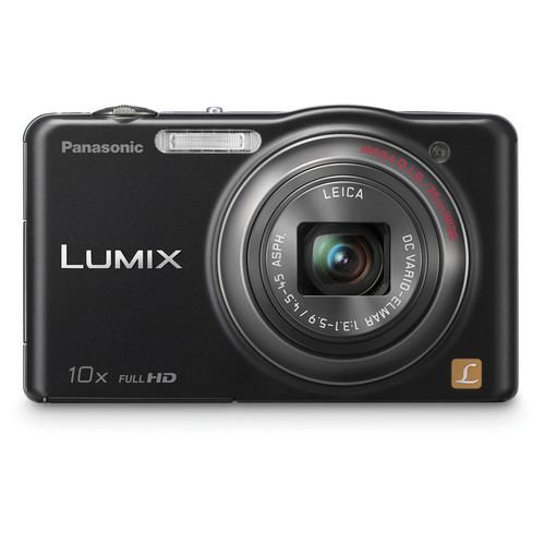 Panasonic LUMIX DMC-SZ7 Digital Camera (Black)
