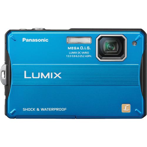 Panasonic Lumix DMC-TS10 Digital Camera (Blue)