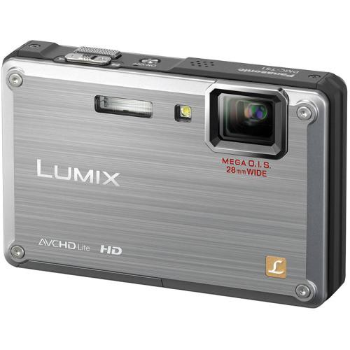 Panasonic Lumix DMC-TS1 Digital Camera (Silver)
