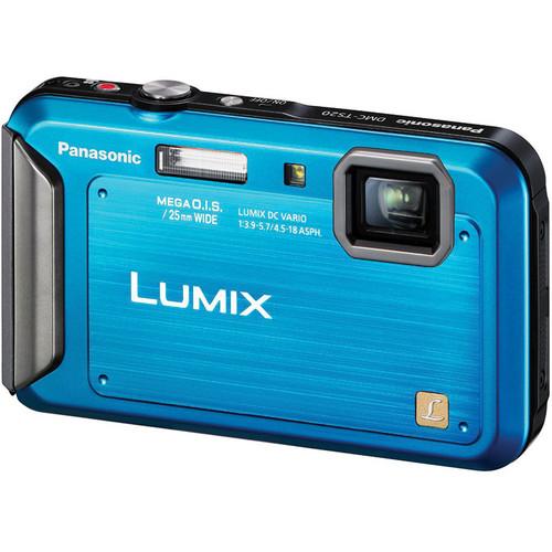 Panasonic Lumix DMC-TS20 Digital Camera (Blue)
