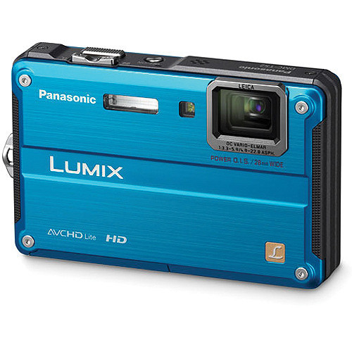 Panasonic Lumix DMC-TS2 Digital Camera (Blue)